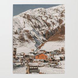 Simple Village Poster