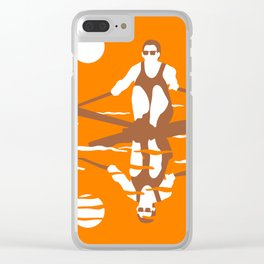 Rower Clear iPhone Case