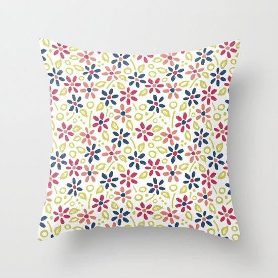 Matisse Floral Throw Pillow