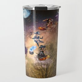 The Whimsical Witches of the West Travel Mug