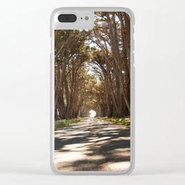 Tunnel of Trees Photography Print Clear iPhone Case