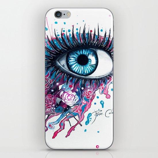 """Midnight Rose"" iPhone & iPod Skin"