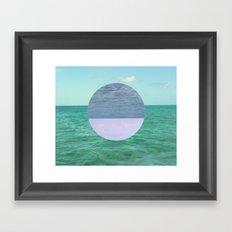 Peaceful Calm  Framed Art Print