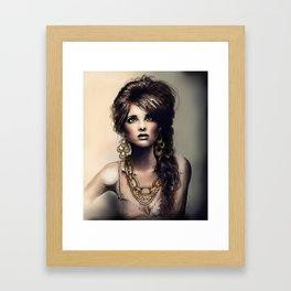 Haute Jewel Framed Art Print