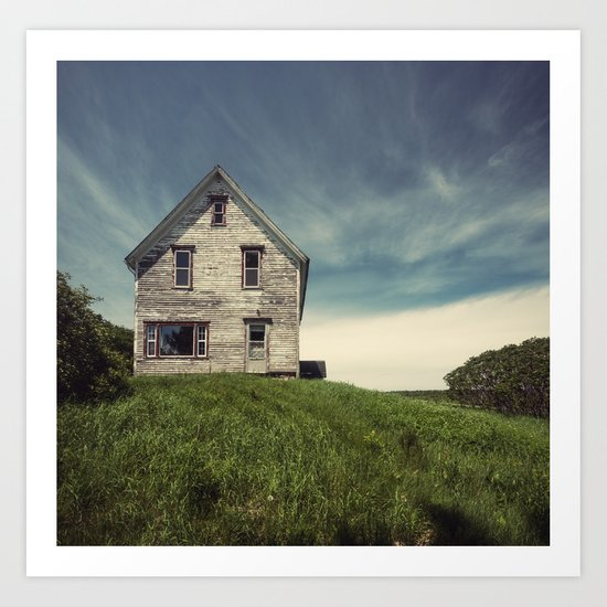 Forgotten in the Country Art Print