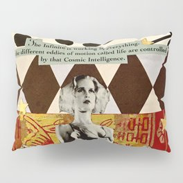 Cosmic Intelligence Pillow Sham