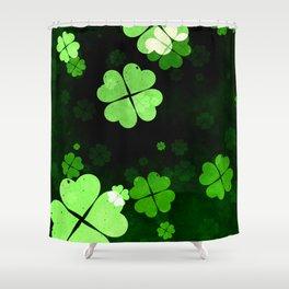 Shamrocks  St. Patrick's Day Shower Curtain