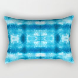 Bohemian Shibori Tie dye Rectangular Pillow