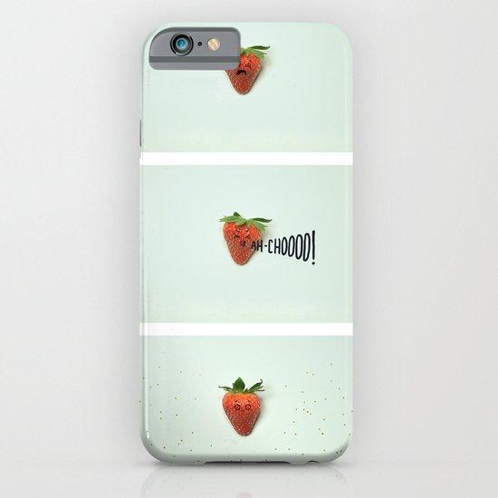 Strawberry Sneeze iPhone & iPod Case