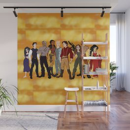 Cartoon Firefly Wall Mural