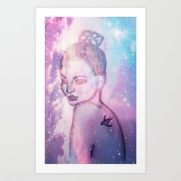 Secret Stars Art Print