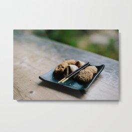 Japanese Cookies // San Francisco, California Metal Print