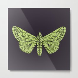 The envy of the moth - Geometric design Metal Print