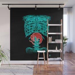 Alien Xray Wall Mural