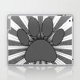 Dog Paw Print Manga Style Laptop & iPad Skin
