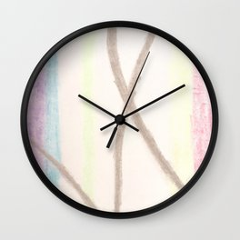 Colour Bow Wall Clock