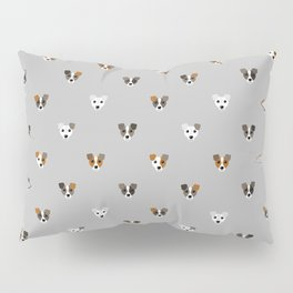 Jack Russell puppies Pillow Sham