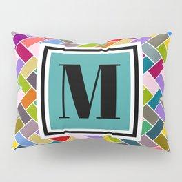 M Monogram Pillow Sham
