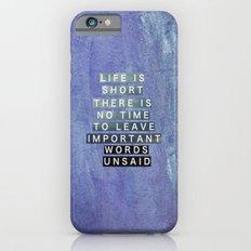 InspirationalCollages.tumblr 4 Slim Case iPhone 6s