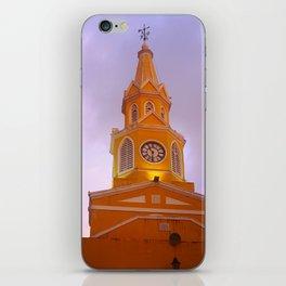 Cartagena Clocktower iPhone Skin