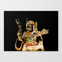 boba Canvas Prints featuring Boba by Robotic Ewe
