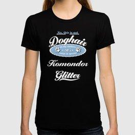 Dog Glitter Komondor T-shirt