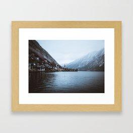 Hallstatt Lakes Framed Art Print