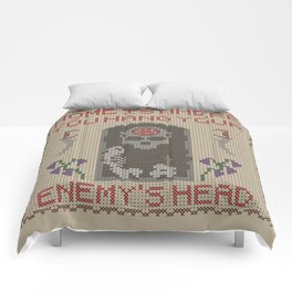 Home Is Where You Hang Your Enemy's Head Comforters
