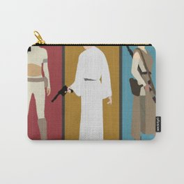 Star Wars' Bad Ass Ladies (With Border) T-Shirt Carry-All Pouch