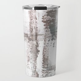Gray smoke painting Travel Mug