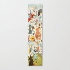 No Slopes Like Snow Slopes Canvas Print