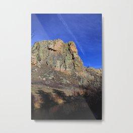 Poudre Cliff Metal Print