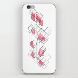 Exploded Axo iPhone Skin