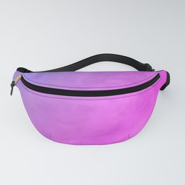 Smoke - pink and purple Fanny Pack