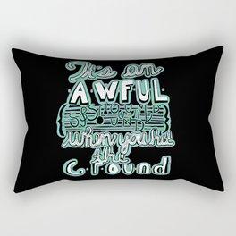 Awful Sound (Oh Eurydice) Rectangular Pillow