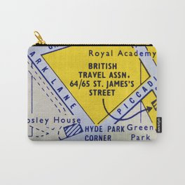 Streets of London 2 Carry-All Pouch