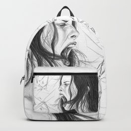 Pain into anger Backpack