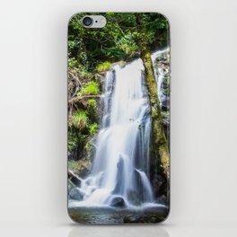 Cascata verde iPhone Skin