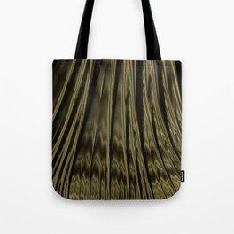 Gold and Black Fractal Tote Bag