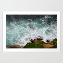 Water in Motion Art Print
