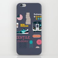nyc iPhone & iPod Skins featuring NYC by 914k