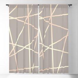 Elegant rose gold pattern Blackout Curtain