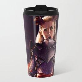 Dragon Age Inquisition - Eva the Qunari warrior Travel Mug