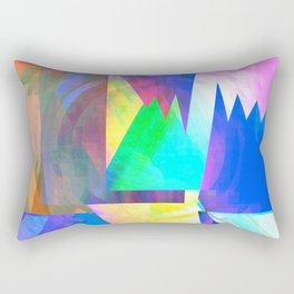 Pastel City Dreamscape Rectangular Pillow