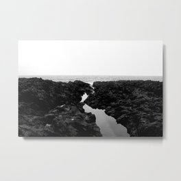 Dark Coast Metal Print
