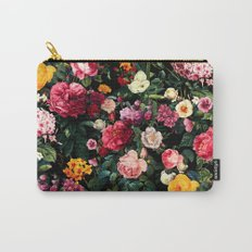 Floral D Carry-All Pouch