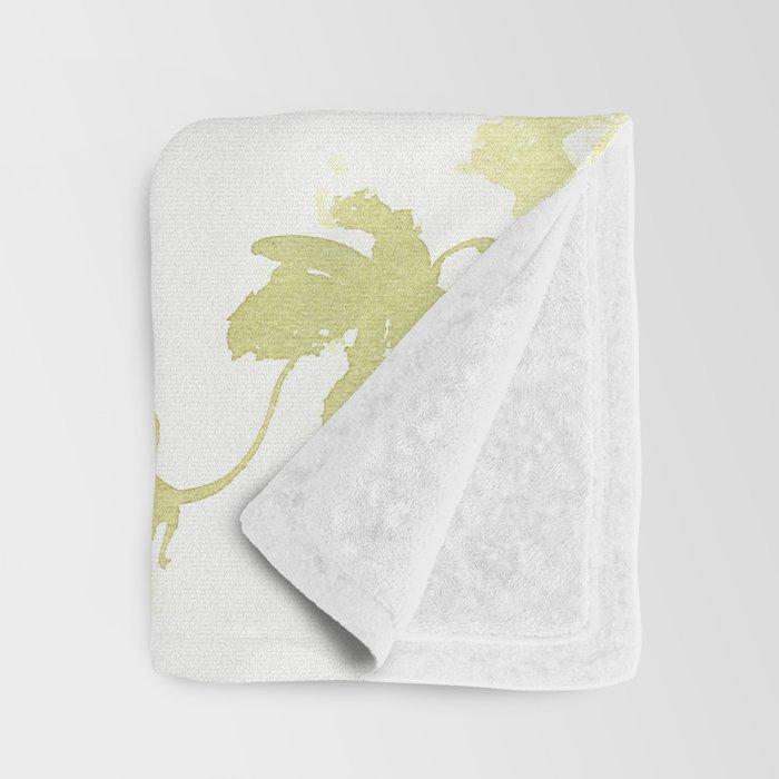 Fish Blue green fish design zebra fish, Danio aquarium Aquatic design underwater scene Throw Blanket