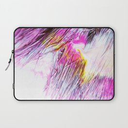 Paintbrush Bristles Macro Photography Laptop Sleeve