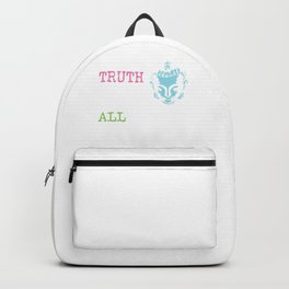 The Gift of Truth excels all other Gifts | Gautama Buddha Backpack