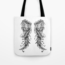 """Collection """" Nightmares"""" impression """"Spirit Wings"""" Tote Bag"""